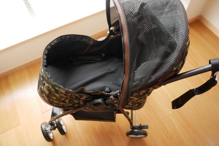 PURLOVE(ピュアラブ)の軽量折り畳みペットカート画像