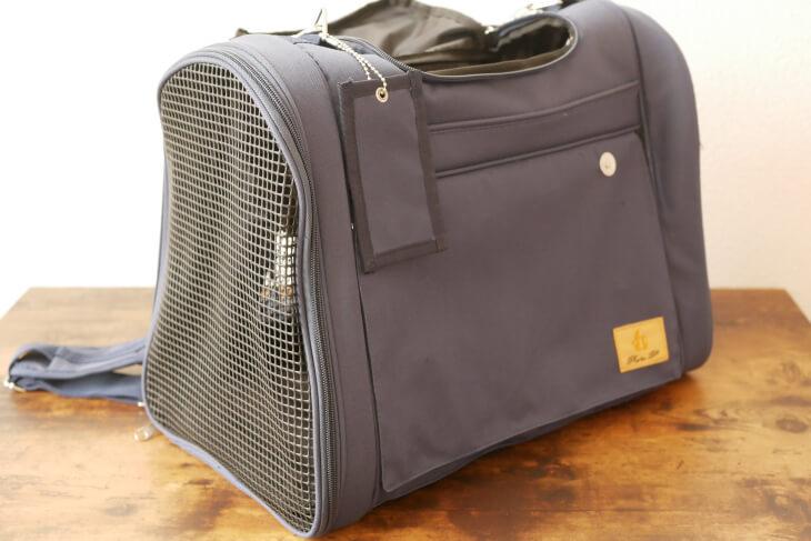 3way(背負う・持つ・掛ける)タイプの布製キャリーバッグ画像