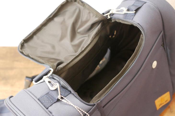 キャリーバッグの取っ手 天窓画像
